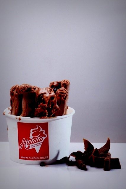 Hulala Ice Cream Pan  Chocolate Flavour