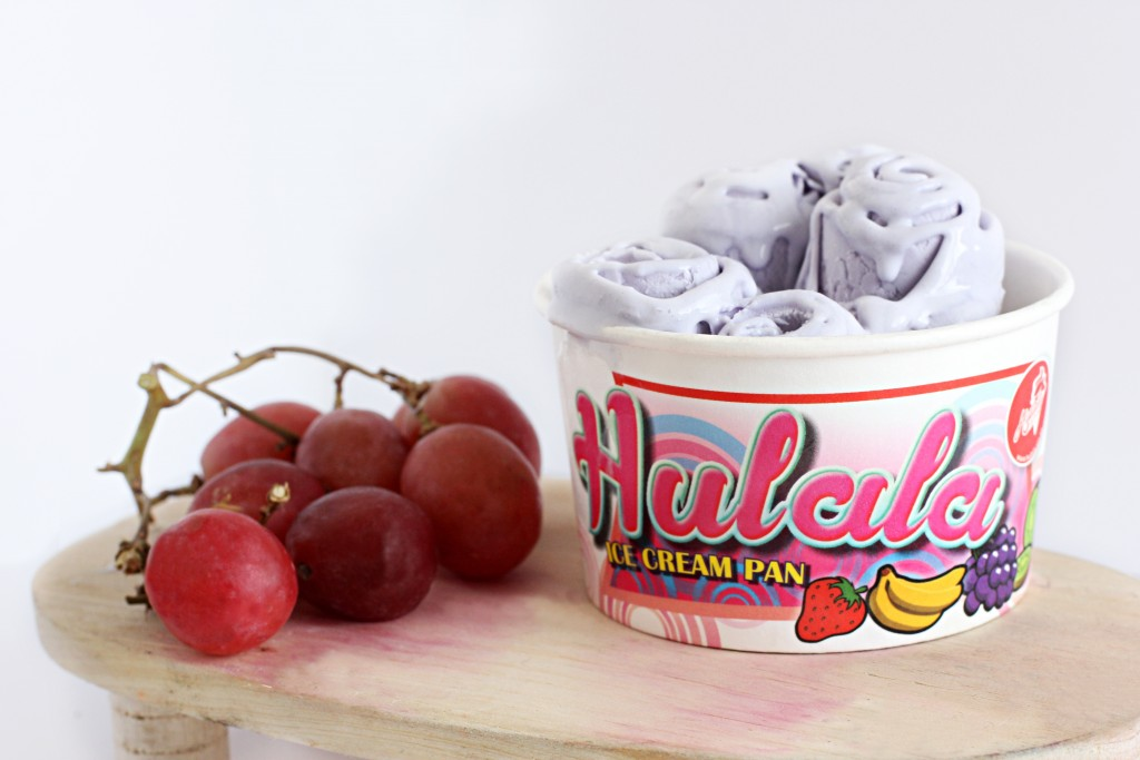 Hulala Ice Cream Pan Grape Flavour