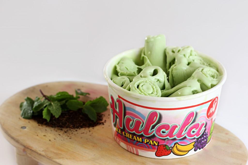 Hulala Ice Cream Pan Green Tea Flavour
