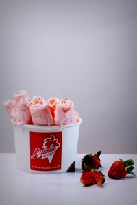 Hulala Ice Cream Pan Strawbery Flavour