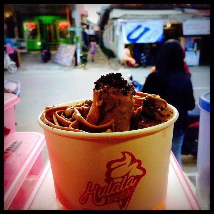 jualan hulala ice cream pan