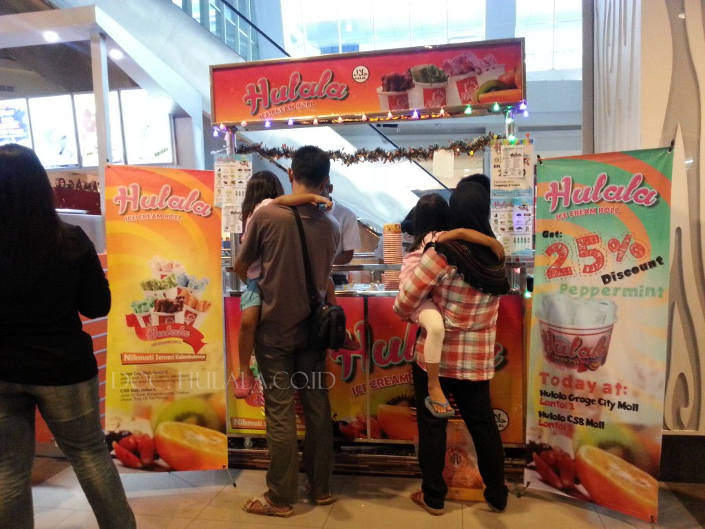 Hulala Ice Cream Pan CSB Mall Cirebon