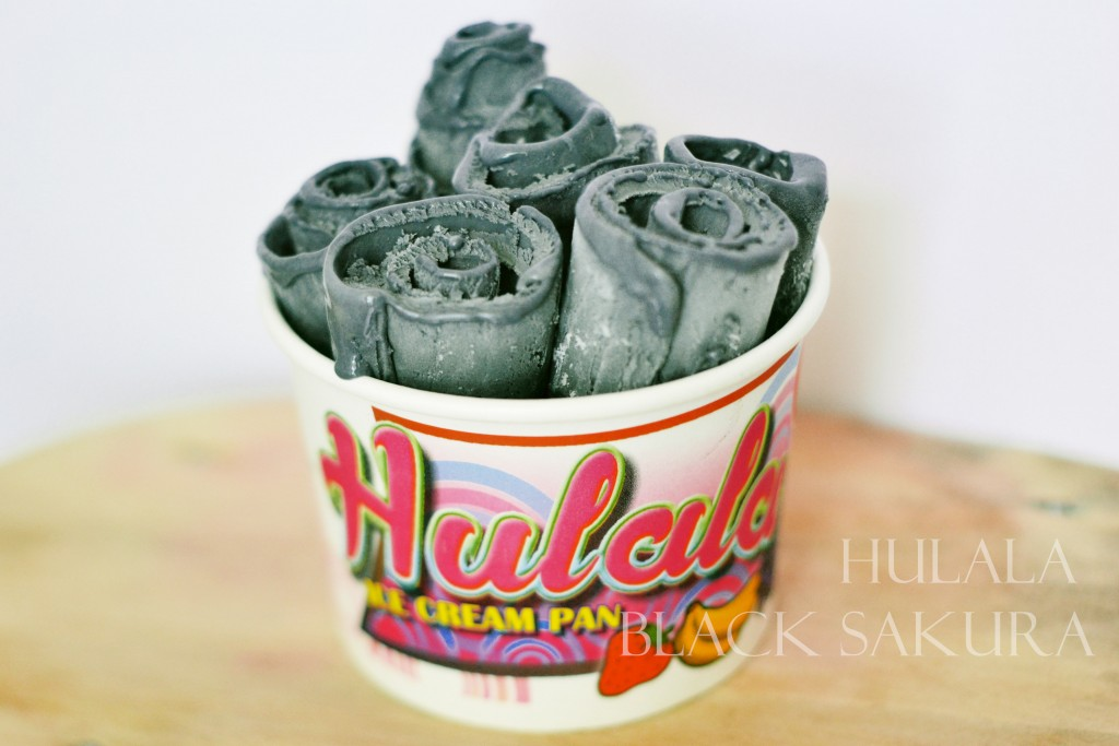 Black Sakura, Sensasi Baru Hulala Ice Cream Pan