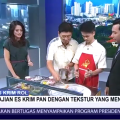 Hulala Ice Cream Roll Hadir di Acara Sapa Indonesia Kompas TV