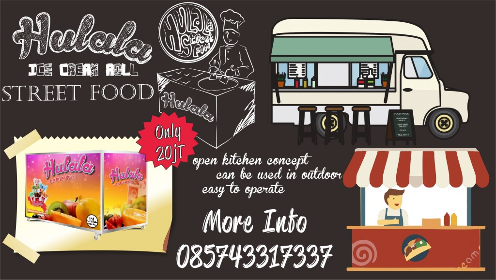 paket hulala street food