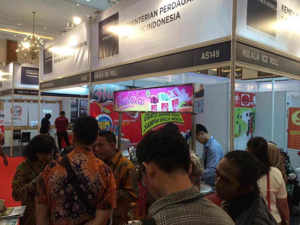 Ramai Pengunjung Di World Franchise Summit Indonesia 2016