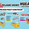 Paket Franchise Hulala Ice Cream Roll