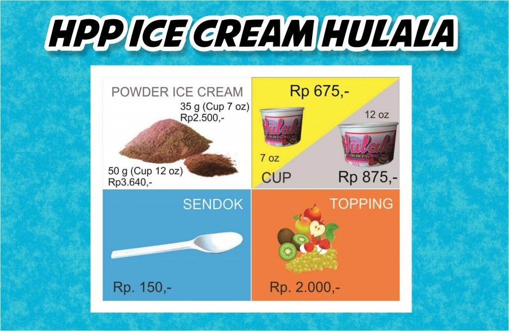 HPP Hulala Ice Cream Roll
